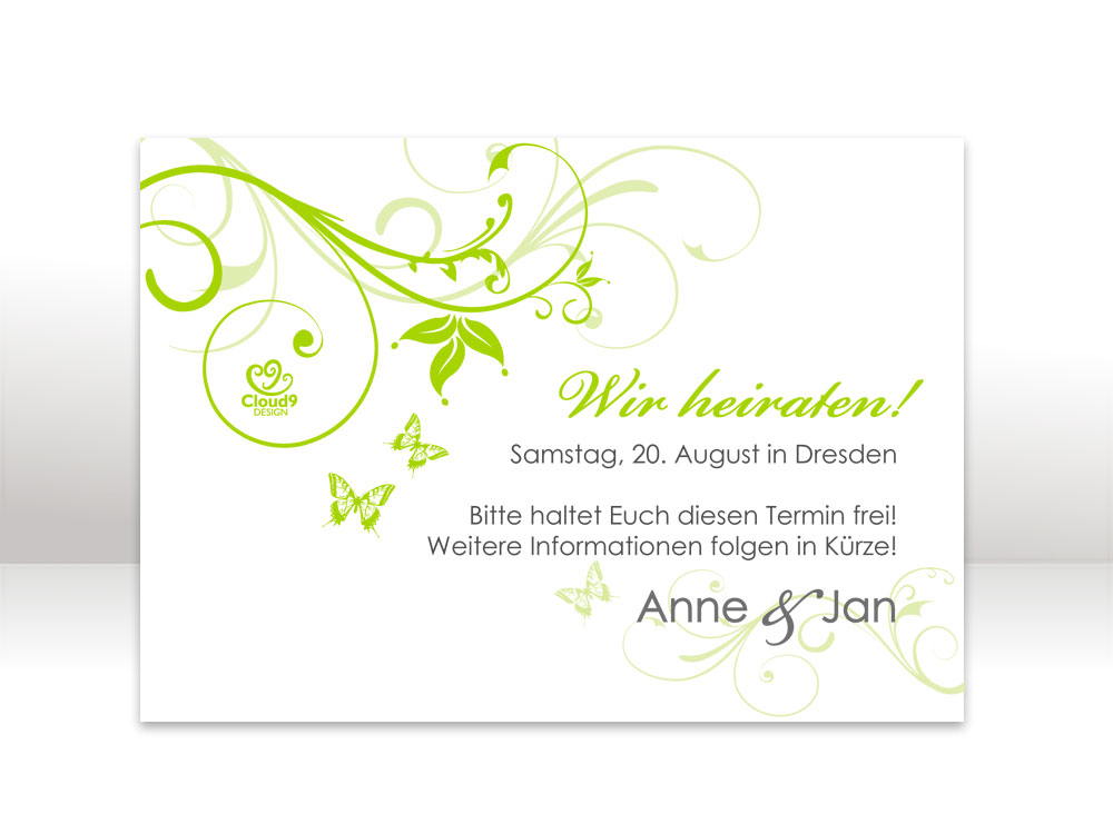 Cloud9design Stories Hochzeitskarten In Serie